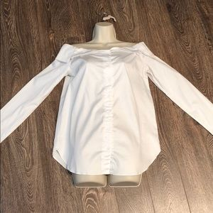 Do + Be Off the Shoulder White Blouse NWT